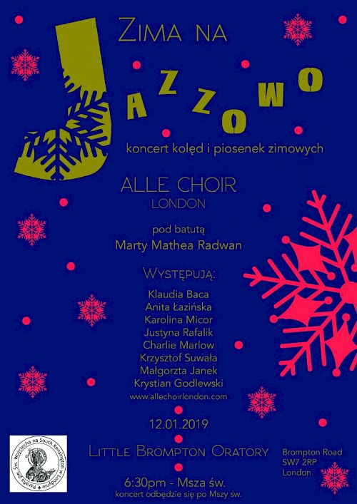 ZIMA NA JAZZOWO - KONCERT ALLE CHOIR LONDON